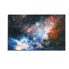 "43""x24"" Universe Galaxy Stars Space Fabric Silk Cloth Poster Home Wall Decor Hot"