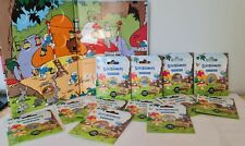 Pack 13 Medailles Touristique Monnaie de Paris Colorisée SCHTROUMPFS + Collector