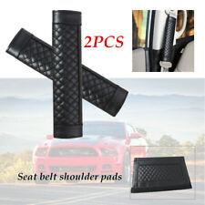 2×Car Cotton Blend Safety Seat Belt Shoulder Comfortable Pad Cover Auto Harness