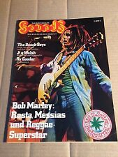 SOUNDS - OKT 10/75 - BOB MARLEY / BEACH BOYS / JOE WALSH / RY COODER