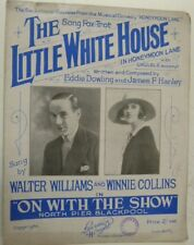 Songsheet Little White House Walter Williams & WINNIE Collins, 1926