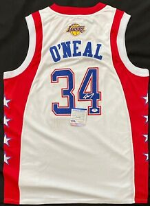 Shaq Shaquille O'Neal Signed All Stars Jersey PSA 9A24305