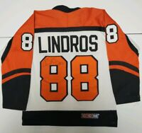 Philadelphia Flyers #88 Eric Lindros Autographed Signed Youth Jersey Size Small