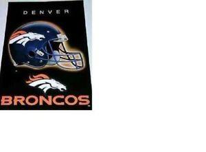 NO PINHOLES MINT NOS 1997 DENVER BRONCOS NFL FOOTBALL POSTER PEYTON MANNING TIME