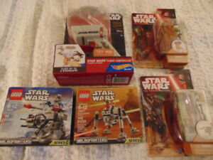 Star Wars Hot Flight Controller Millennium Falcon,Star Wars LEGO Lot 5 NEW Toys