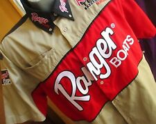LARGE NEW NWOT RANGER BOATS VINTAGE 80s FULL EMBROIDERD RACING SHIRT