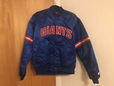New listing New York Giants Starter Jacket Men Large Exec condition With No Chip On Buttons