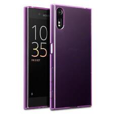 Terrapin Fine Housse Étui En Gel De Caoutchouc pour Sony Xperia XZ/XZs - Violet