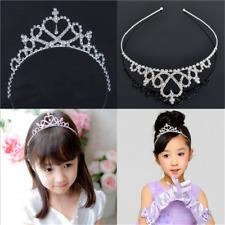 Cute Stylish Kid Tiara Hair Band Bridal Wedding Princess Prom Crown Headband
