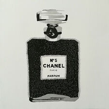 CHANEL - BLACK SPARKLE CHIC - FINE ART PRINT POSTER 13x19 - PAQ028
