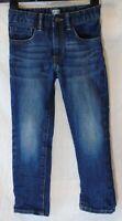 Boys Gap Dark Blue Whiskered Denim Adjustable Waist Classic Jeans Age 5 Years