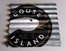 Goose Island Beer Company Tin Metal Beer Tacker Sign 312 Chicago Brand New 24x22