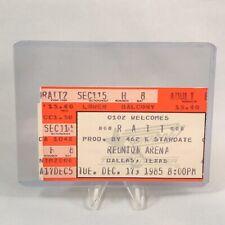 Ratt Reunion Arena Dallas Texas Concert Ticket Stub Vintage December 17 1985