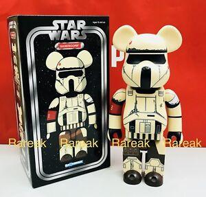 Medicom Bearbrick Star Wars Stormtrooper 400% Shore-trooper Be@rbrick 1pc
