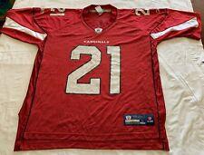 PATRICK PETERSON #21 football jersey AZ CARDINALS NFL men's Large Reebok red
