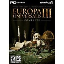 Europa Universalis III 3 Complete  Brand New Sealed  Epic PC Strategy Game