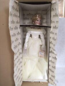 Ashton Drake Galleries Finishing Touch bride doll 1993 William Hanson COA Box