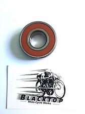Triumph Wheel Bearing 6204 (Not QD or Disc Brake) OEM #37-0653 Norton/BSA