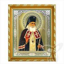 Ikone des Heilige Luka dem Chirurgen Holz 21x18 икона Лука Крымский врач ikona