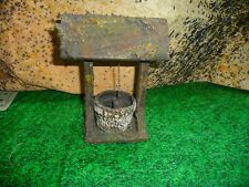 ELASTOLIN COMPOSITION-WOOD PRE WAR  WELL ,SCALE 1/25 ,VERY RARE