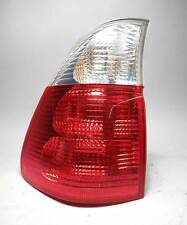 BMW E53 X5 SAV Left Rear Outer Tail Light Lens w White Clear 2003-2006 USED OEM