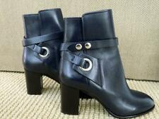 Isabel Marant Ashes Boot Ankle Bootie Wrap Strap Midnight Chunky Heel NIB 38