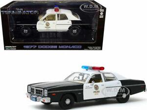 1977 DODGE MONACO POLICE CAR THE TERMINATOR MOVIE 1/24 DIECAST GREENLIGHT 84101