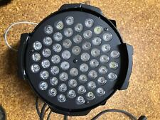 LED 7-color STAGE par light with 54 beams