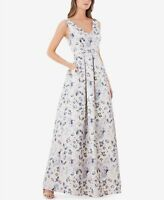 JS Collections Floral-Print Metallic Ball Gown MSRP $350 Size 14 # 3A 474 NEW