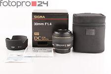 Nikon Sigma 30 mm 1.4 DG EX DC HSM + TOP (385868)