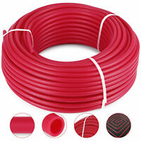 "1/2"" x 300ft Feet Pex Tubing Non Oxygen Barrier Pex-B Radiant Floor Heat Red"