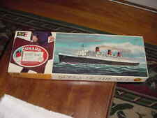 "1962 Revell Model Kit No.H-311:300, ""R.M.S. Queen Mary"" 1:596 Scale, MIB"