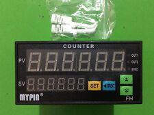 90-265V AC/DC 6 Preset Digital Counter /Length/Line Speed Meter FH8-6CRNB