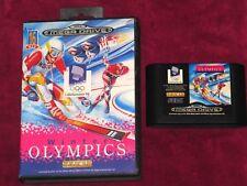 Sega Mega Drive-Juegos Olímpicos de Invierno! 1994 Lillehammer Juego De Deportes B