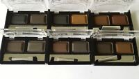 Eyebrow Powder and Stencil Shaping Kit - 6 Shades To Choose - 4 FREE STENCILS