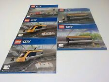 LEGO City 60197 Instruction Manual only for Passenger Train