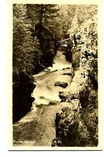 River Gorge-Scenic Landscape Water View-RPPC-Vintage Real Photo Postcard