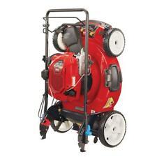 Variable Speed Walk Behind Lawn Mower High Wheel 22 inch Self Propel Gas Powered