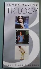 James Taylor - Trilogy - 3CD set - Three Classic Albums in long case