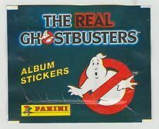 Panini The Real Ghostbusters Unopened Sticker Pack Packet Circa 1984
