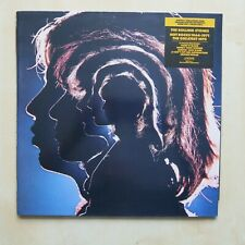 THE ROLLING STONES Hot Rocks 1964-1971 Remastered double LP + promo card 1990