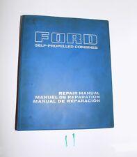 Ford Senator 640 Mercator 630 Self Propelled Combine Service Repair Manual