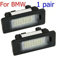 LED License Plate Number Light For BMW E82/E88/E90/E92/E93/E39 Plug and Play