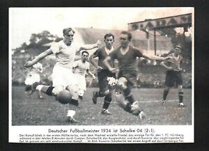 seltenes Bild von Kuzorra (Schalke 04) 1934 Auktion 20