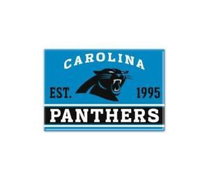 Carolina Panthers Photo Magnet with Logo, NFL Football, Team Gründungsjahr