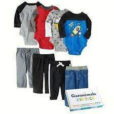 Garanimals Mix & Match Kid-Pack 8 Pieces Tops & Bottoms 3-6 Months Free Ship NIB
