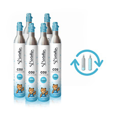 CO2 Zylinder > Tausch-Box 6 x 425g (60 l) passend für alle Geräte by SodaBär©