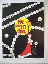 ME AND MY GIRL Souvenir Program KARL HOWMAN / LOUISE ENGLISH UK 1987