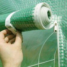 COPERTURA polytunnel 6 M x 3 M ZINCATO pollytunnel Tunnel Serra Casa Verde