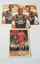 1993 Newsweek Magazine: Michael Jordan Chicago Bulls - The Greatest Ever lot 4